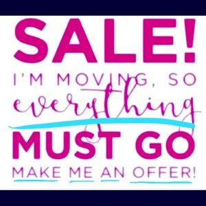 ✈️MOVING SALE..EVERYTHING MUST GO! MAKE AN OFFER💸